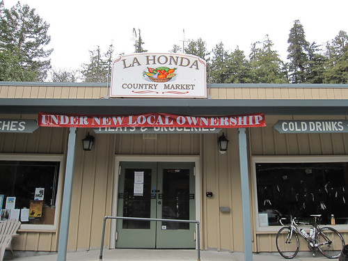 La Honda market was re-open under new local ownership