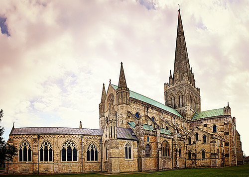 Chichester Cathedral Panorama