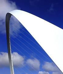 Millennium Bridge Newcastle Gateshead (Gilli8888) Tags: millenniumbridge newcastle gateshead rivertyne bridges curve bridge sky clouds northeast north