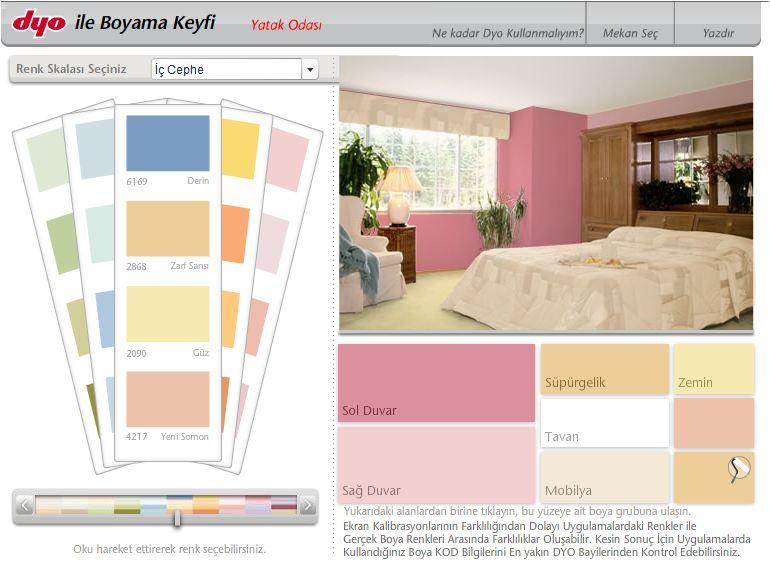 dyo ile boyama keyfi online ev dekorasyonu dyo boya ile ev villa apartman boyama