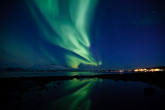 Nordlys over Berg i Tromsø (Tor Even Mathisen) Tags: natur nordlys sekvens vår berg aurora borealis northern lights tromsø norway