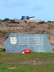 Мемориал погибшим во время Второй Мировой войны, Нуэмо, остров Джерси