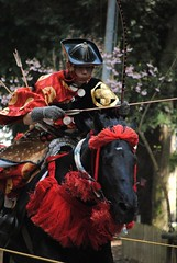 Yabusame Photo Series (Hardy higotai) Tags: horse japan japanese spring nikon   cherryblossoms samurai archery hardy  yabusame     higotai