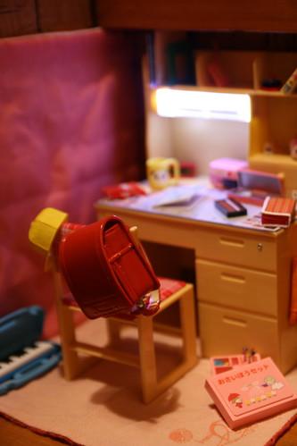 私の学習机