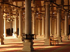 Old Mosque, Amr Ibn El-Aas, Cairo Egypt (cmphotoroll) Tags: egypt cairoegypt 5photosaday oldmosque worldwidewandering amribnelaas nikonp90