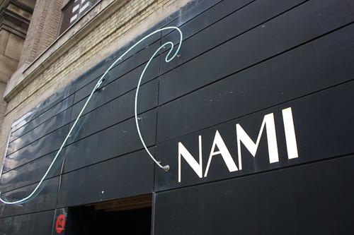 NAMI Restaurant - Front Shot