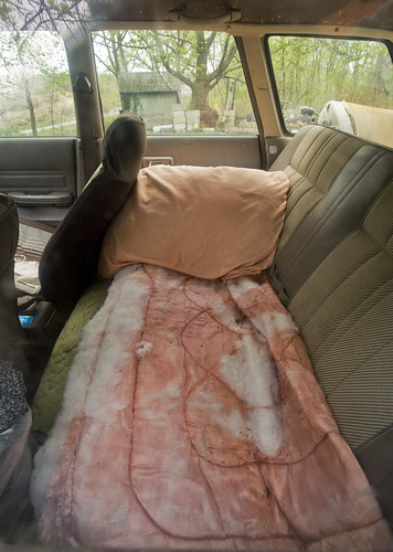 back seat bed