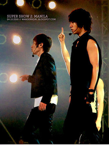 Teukie and Yesung