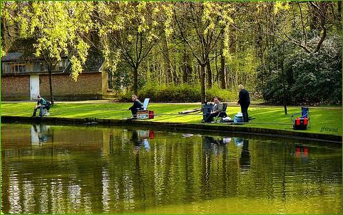 Рыбалка при хорошей погоде