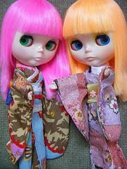 Sushi & Bento in kimonos