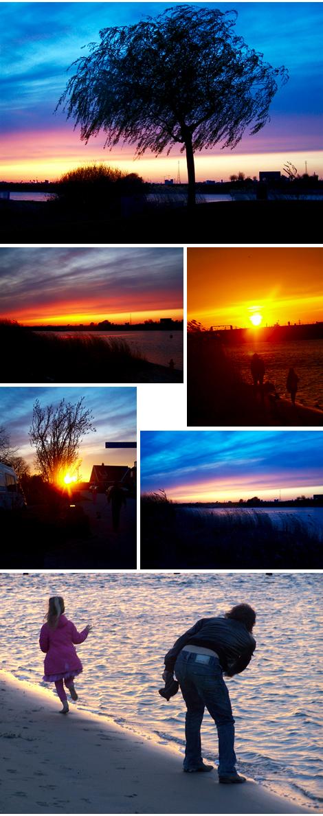 zonsondergang bewerkt 15042010