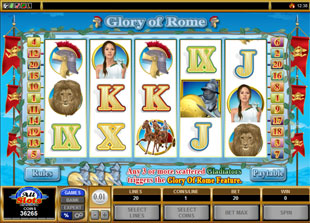 Glory of Rome slot game online review
