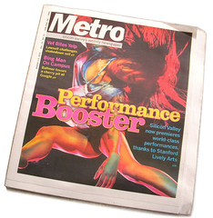 Edition of the Metro which published one of my photos