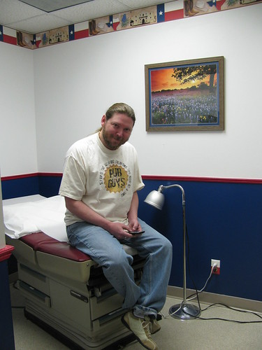 Kyle at Dr. Brad's Office