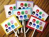 Club Penguin Puffle Cupcake Toppers (Kid's Birthday Parties) Tags: cupcakes clubpenguin cupcaketopper puffles clubpenguinparty customcupcaketopper clubpenguinpuffles clubpenguincupcakes clubpenguinbirthday pufflecupcakes puffleparty pufflebirthday papercupcaketopper handmadecupcaketopper
