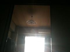 西日のあたる部屋