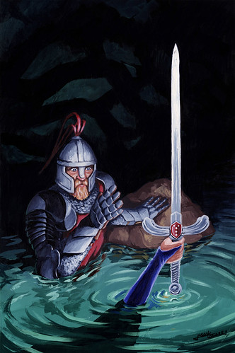 Knight of Swords Painting