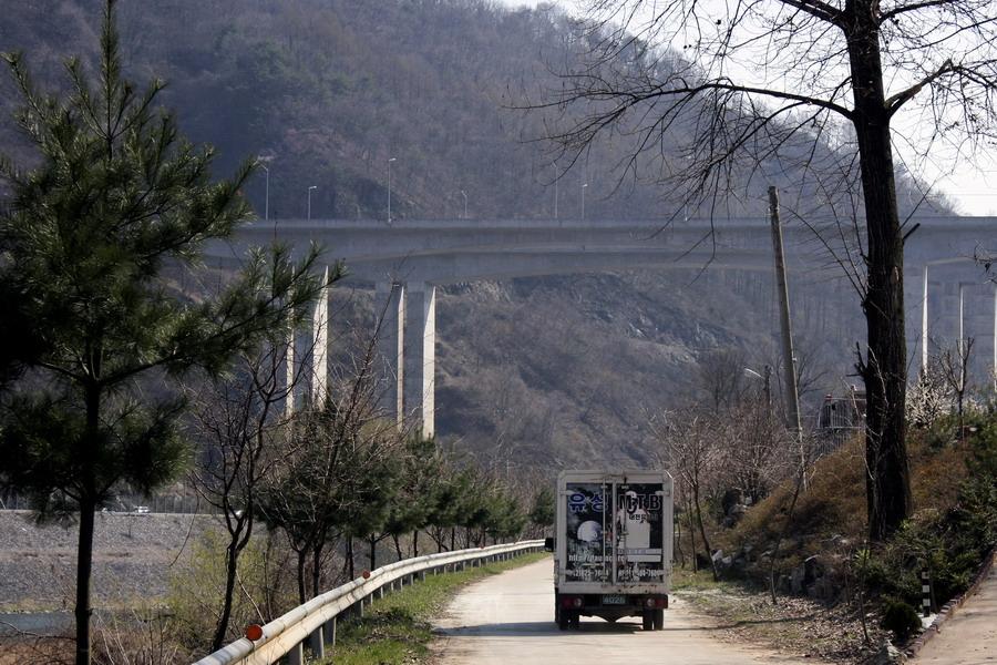 Hiway across Geumgang river