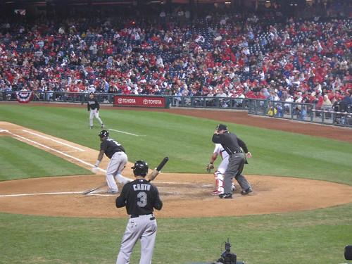 Hit! - Florida Marlins at Philadelphia Phillies 17 April 2010