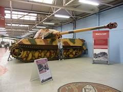 Sd Kfz 182 Panzerkampfwagen VI Ausf B (King Tiger) (simononly) Tags: uk england museum army spring war tank military iraq nazi german soviet dorset ww2 vehicle british ww1 coldwar panzer 2010 bovington allied