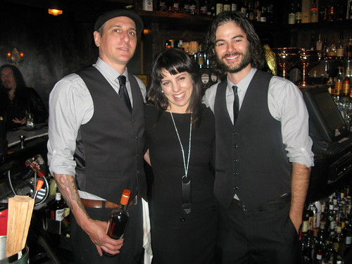 Bartender Don, mixologist Cooper Gillespie and bourbon baron Brandon Ristaino