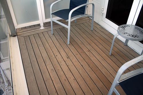 Carnival Spirit - Extended Balcony Needs Wider Lens