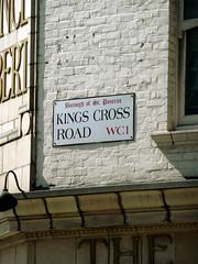 Kings Cross Road WC1 (Borough Of St Pancras) (EZTD) Tags: london photo foto fotograf photos camden streetsign photographic photographs photograph fotos photograf wc1 fotograaf photographes kingscrossroad boroughofstpancras photographen ukroadsign eztd eztdphotography kingscrossroadwc1 photograaf fotoseztd eztdphotos leeztd dereztd