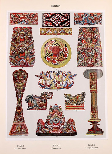 023- Bali principios siglo XX-Ornament two thousand decorative motifs…1924-Helmuth Theodor Bossert