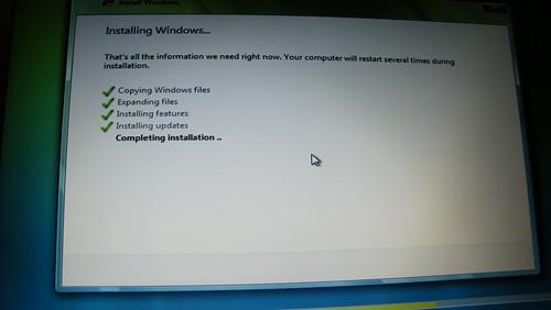 Windows Vista Hangs On Installation
