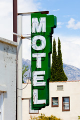 Should I Stay or Should I Go (Thomas Hawk) Tags: california usa neon unitedstates unitedstatesofamerica motel independance inyocounty raysdenmotel