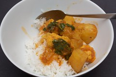 vegie curry from the Gurkhas