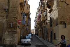 Malta - Typical Balconies (Le Monde1) Tags: saint st john island nikon mediterranean malta knights balconies typical defence valletta crusades fortified d60 lemonde1
