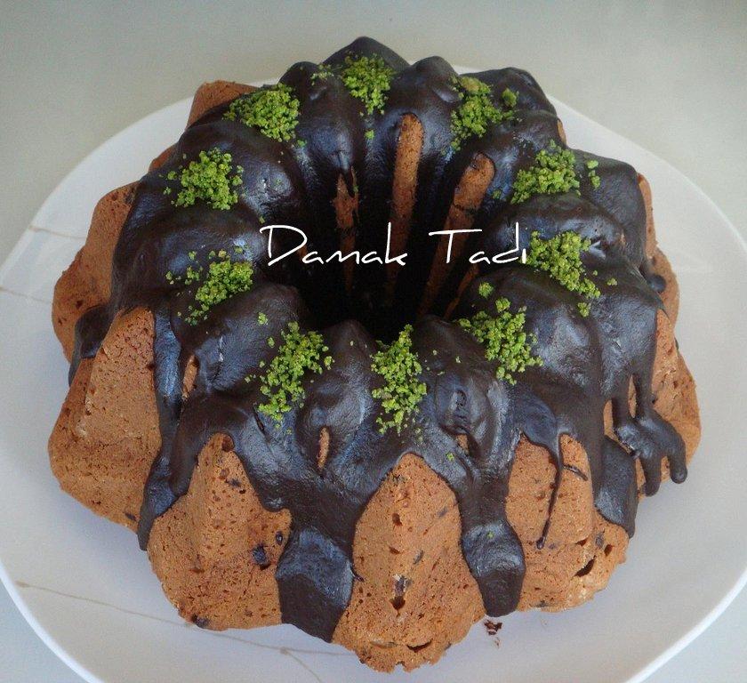 Fıstıklı Çikolatalı Kek