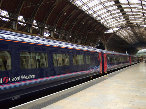 First Great Western FGW High Speed Train, Paddington Station London