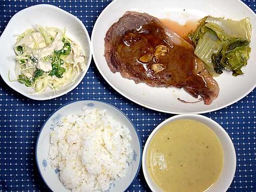 2010年4月29日の晩ご飯