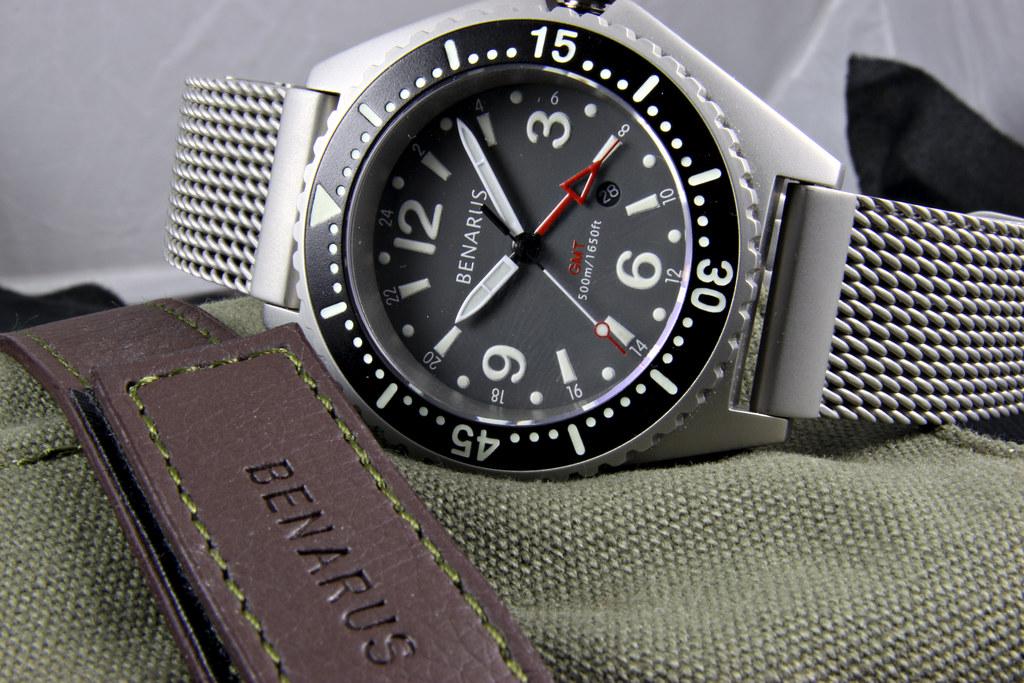 Benarus Worldiver GMT Quartz 4566057789_55e05d0efd_b
