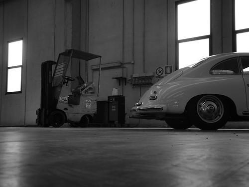 Porsche 356 T1 e muletto