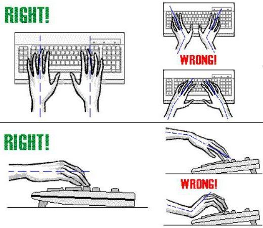 menggunakan komputer dengan benar