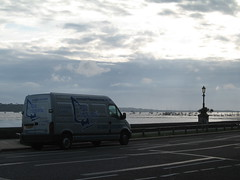 Poole Windsurfing van at Poole Harbour