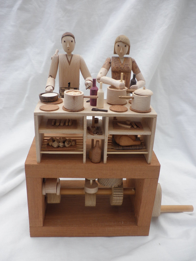 Kitchen 2009 cooking automata