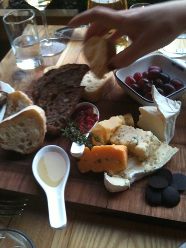 Counting Room cheese plate