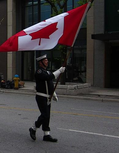 sweet canadian flag windsor naval parade