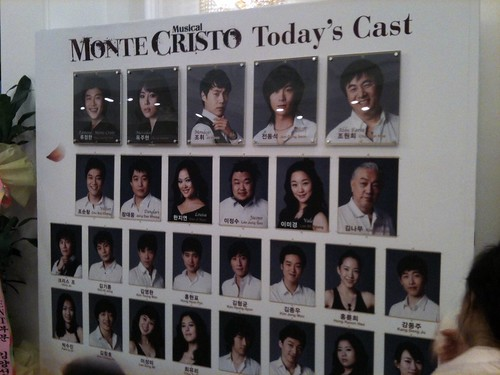 Musical Count of Montecristo