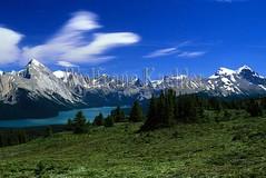 00039656 (wolfgangkaehler) Tags: canada landscape scenery scenic canadian alberta northamerica albertacanada jaspernationalpark malignelake canadianrockies northamerican canadianrockymountains malignlakecanada elizabethrange elizabethmountainrange