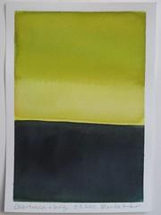 #8 Chartreuse + Indigo