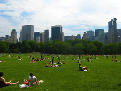 Sunday in the Park (DitMartian) Tags: nyc newyork centralpark manhattan sunbathing sunbathers sundayinthepark sheepmeadow ilovenewyork