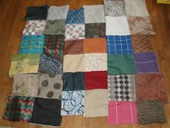 Pfaff test #1 -- rag quilt