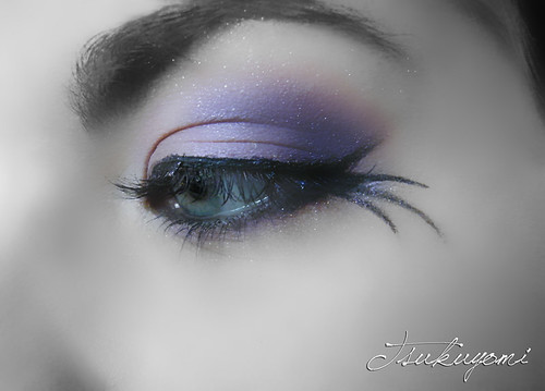 Purple Eyedesign picture. Japanese eyeshadow
