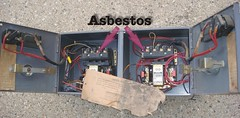 Square D Electrical Asbestos Parts (Asbestorama) Tags: electric inspection safety electronic electrical survey squared acm asbest asbestos asbesto amiante amianto asbes