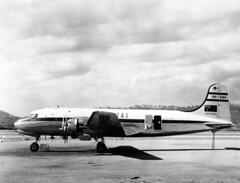 Douglas : DC-4 (San Diego Air & Space Museum Archives) Tags: aviation aeronautics sdasm